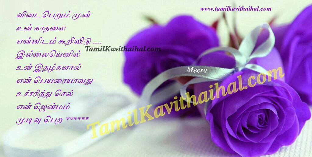 Cute Tamil Rose Love Kadhal Kavitha Tamil Boy Girl