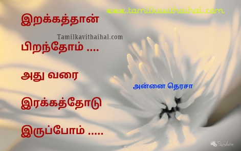 most inspiring mother therasa quotes in tamil death love life kindness peaceful image
