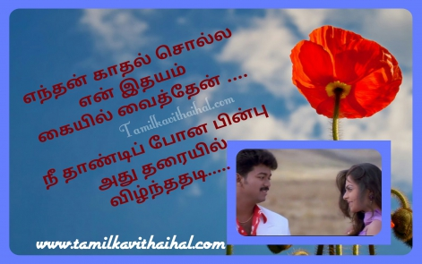 beautiful one side love proposal tamil vijay song quotes shajakhan boy feel about lover mellinamey hd wallpaper