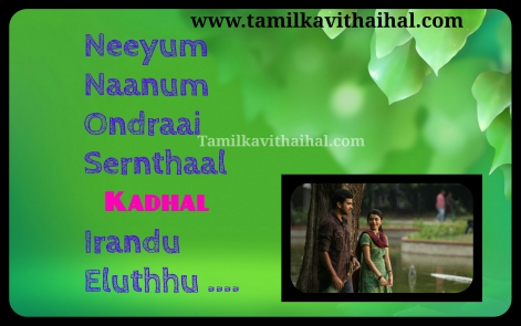 cute love song from thekidi movie beautiful understanding lovers quotes in english tamil whatsapp profile pic