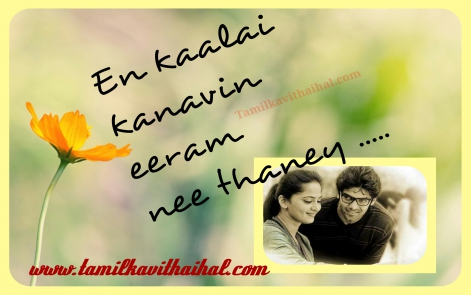arya emotional love sogam song quotes anushka kaalai kanavu eeram whatsapp images profile