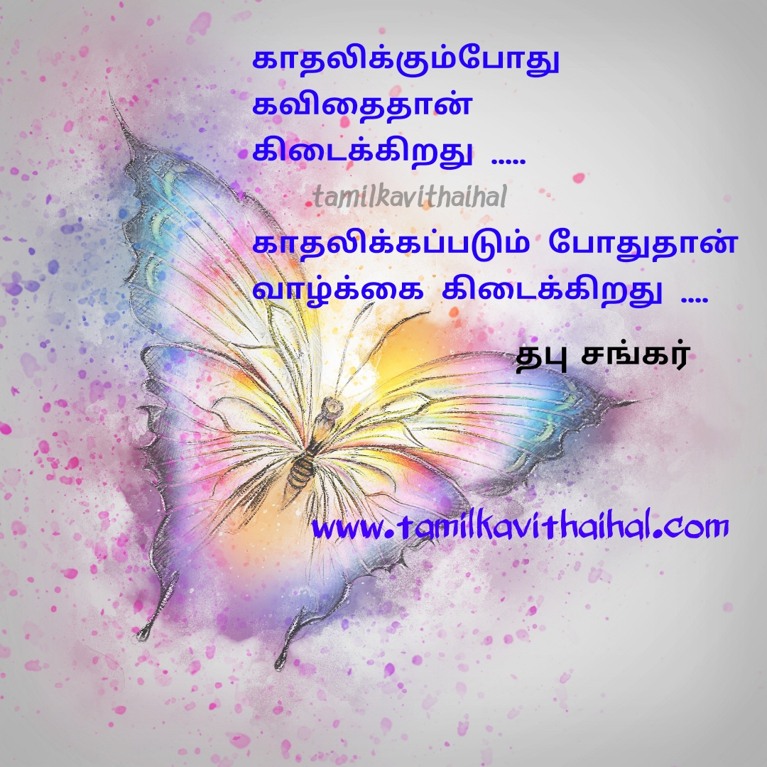 thabu sankar tamil kadhal kavithai quotes and status images