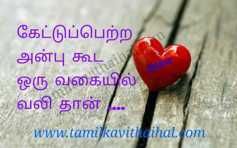 beautiful quotes for love and affection in tamil language valkkai vali thathuvam sana image