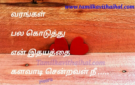 attractive love kavitahi in tamil language varam idhayam pain meera poem facebook status images download