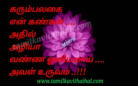 awesome love kavithai kankal vannam uruvam aval meera poem facebook dp pic