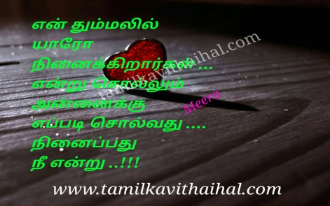 beautiful love quotes thummal ninaivu annai yaro memory nee meera kadhal poem whatsapp hd wallpapper