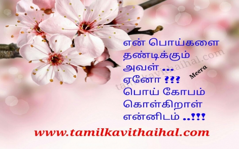 best love couple romantic quotes husbend and wife sweet kopam poi angry thandanai meera poem hd image