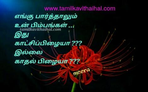 best love feeling tamil kadhal meera kavithai enku paarthalum pimbam katchi pilai hd image