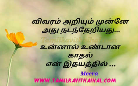 best tamil kadhal kavithai meera poem boy feel love proposal whatsapp images download