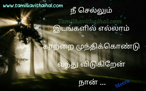 nee sendra idam ellam cute love kavithai romantic feel meera poem facebook images download