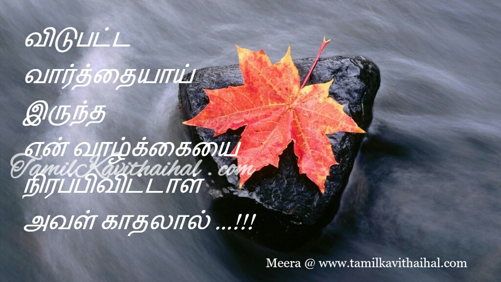 tamil kadhal kavithai varthai about love poems proposal meera images download