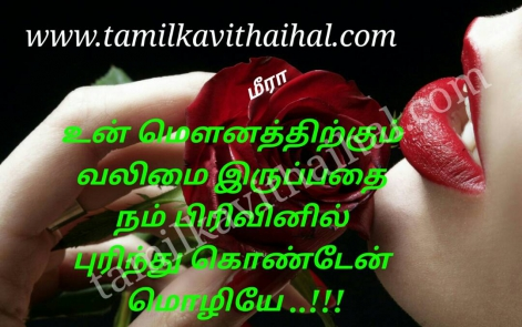 awesome kanner kavithai in tamil language mounam pirivu mozli meera poem dp pic status
