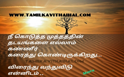 beautiful romance and kanner kavithai kiss thadayam virainthu kanner love failure meera poem pictures