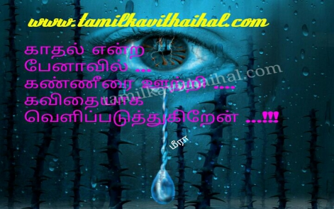 beautiful whtatsapp tamil dp status about kadhal vali soham pena kaaner kavithai meera image download