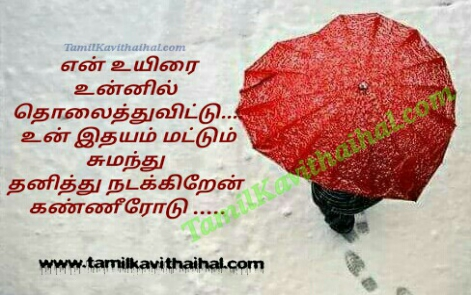 en uyirai unnil tholaithu red rose feeling bad meera
