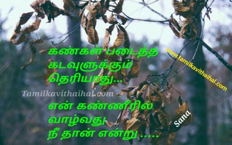 pain kanner vali kavithai in tamil kankal kadavul kanneril valkirai nee sana love failure poem images dp status