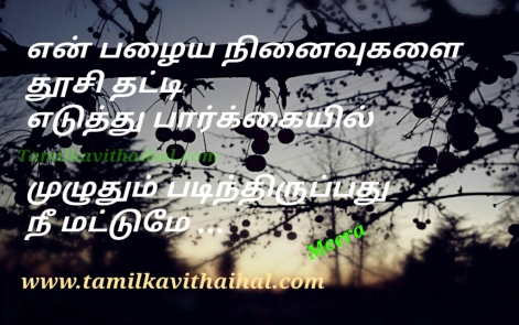 sad quotes about kadhal pirivu vali thathuvam old memories remember missing u love meera poem pictures