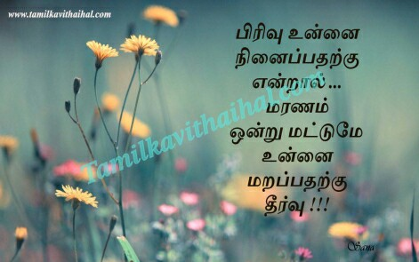 very sad love quotes in tamil pirivu ninaivu marapathu maranam theervu kanneer kavthai sana whatsapp profile pic