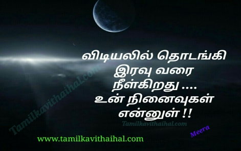vidyal mudhal iravu varai neelgirathu nianvugal ennul meera poems