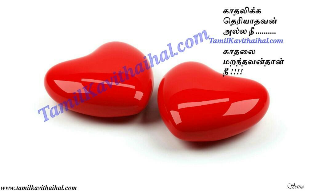 Heart Idhayam Sogam Kaneer Tamil Soham Kavithai Love Failure Wife