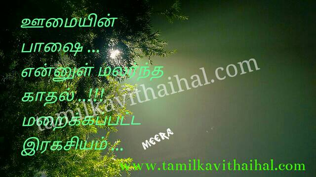 Beautiful kadhal poem love express kavithai erakasiyam meera poem dp whatsapp status image