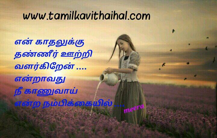 Beautiful One Side Love Failure Quotes In Tamil Meera Pictures