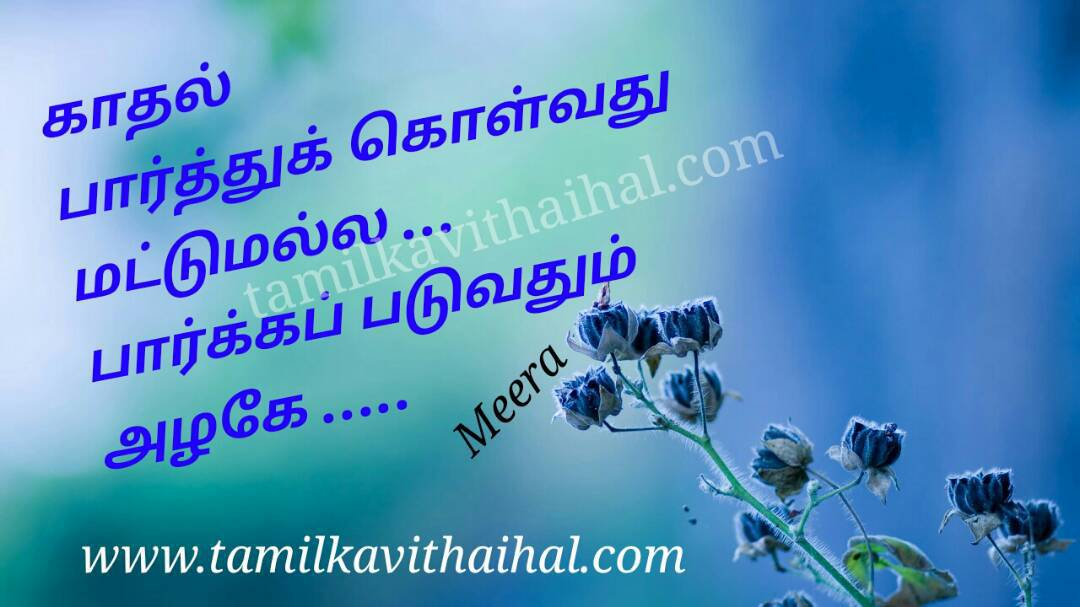 Cute love feel kadhal alaku meera poem whatsapp dp in tamil wallpapper hd download