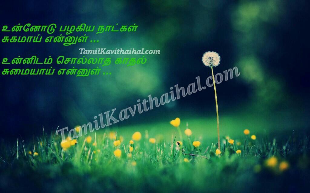 Cute love soham sad kadhal kavithai flower