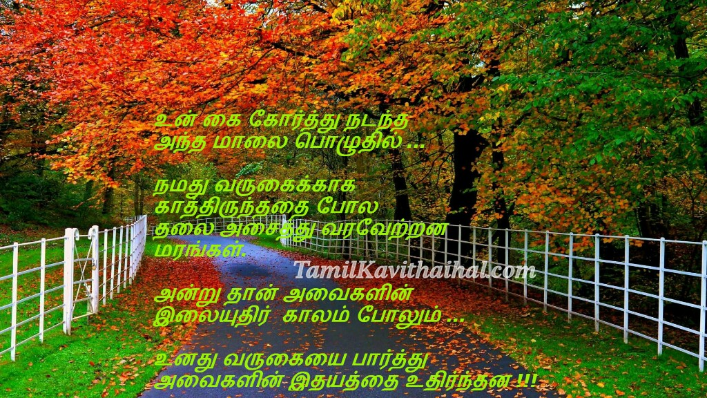 Cute tamil quotes love tree kavithai friend