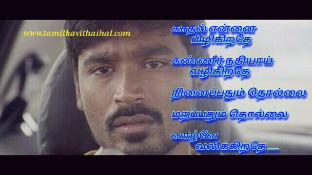 Dhanush sogam song quotes in tamil profile picture whatsapp facebook