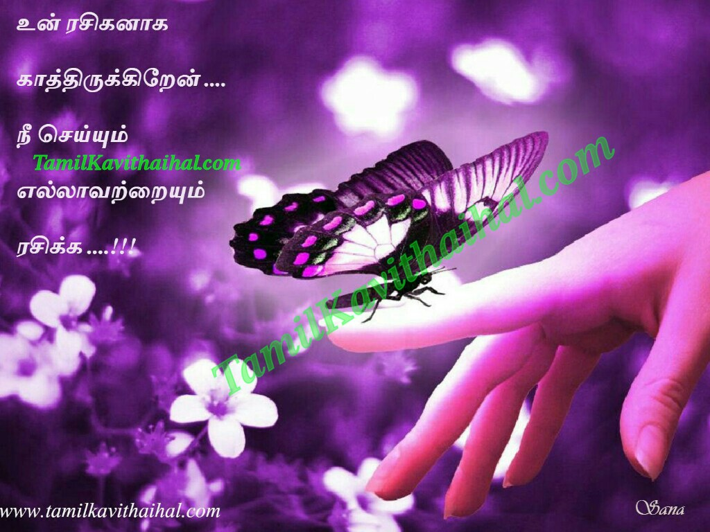 Heart touching tamil kadhal kavithai butterfly rasigan HD image download