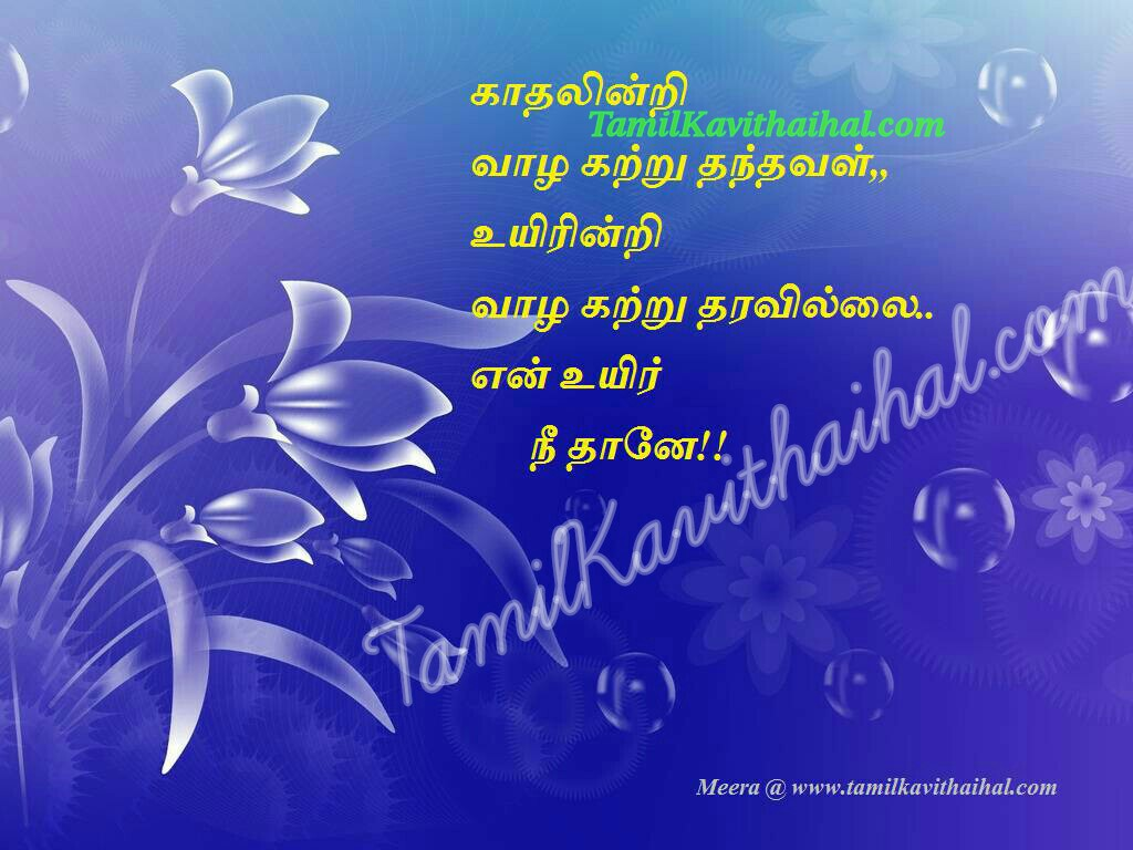 Kavithaigal in tamil about love en uyir neethane meera kadhal poems images download for facebook whatsapp photos