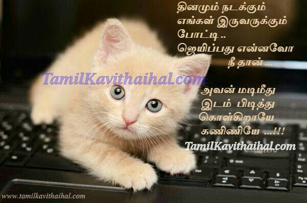 Laptop tamil poems kavithai cat IT kadhal love images download