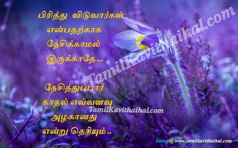 Love failure heart touching messages in tamil kadhal tholvi bama quotes images downloads pirivu
