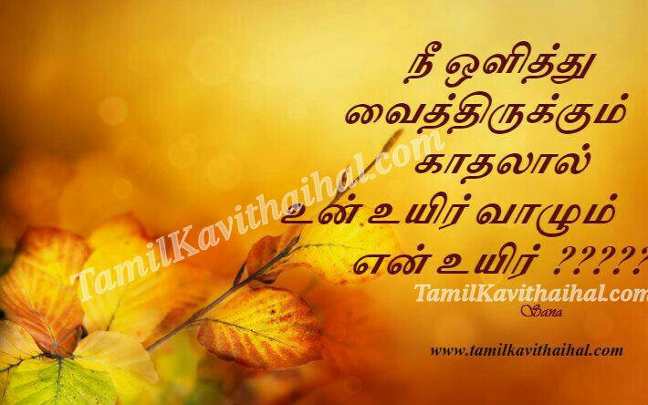 Nee olithu vaithirukum uyir valum tamil kanneer kavithai sana sogam thanimai images download