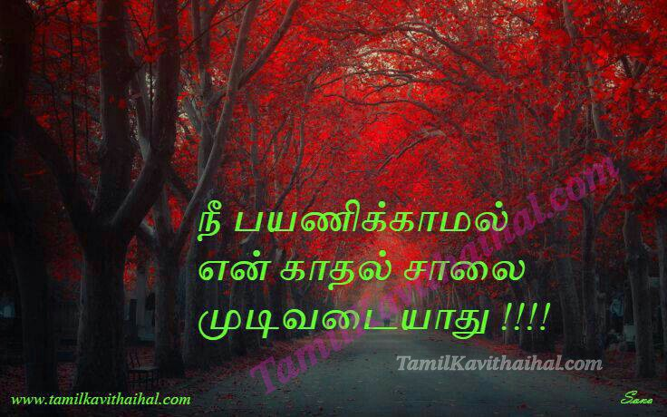 Nee payanam kadhal illai girl feel love proposal sana tamil kavithai images download