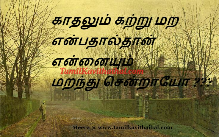Sad kadhal kavithai katru maranthu sendrai pirivu sogam meera images download