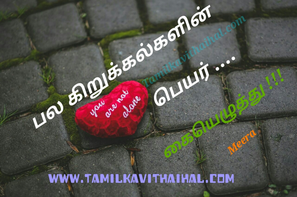Simple and best hikoo kavithai about signature sign kirukkal peyar meera poem pictures download