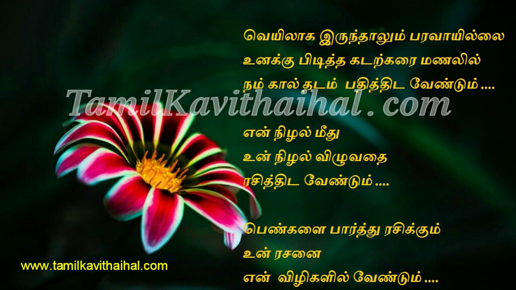 Tamil kadhal kavithai meera husband and wife kavithaigal sentiment last wish aasai viruppam love proposal 4