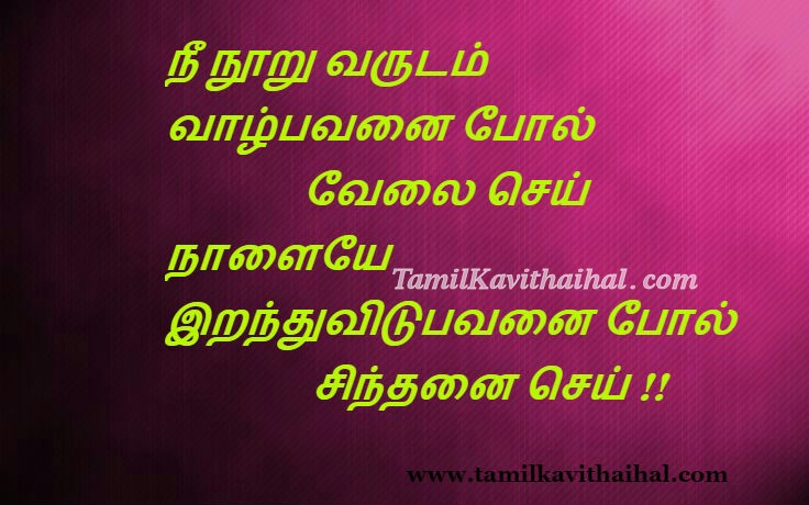 Tamil love quotes valkai 100 sinthanai velai ethirkalam future images for facebook whatsapp download
