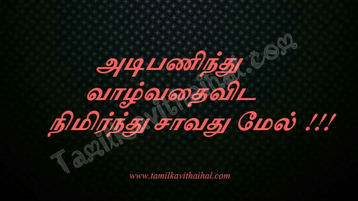 Tamil whatsapp messages valkai life quotes adimai veeran savathu mel images download