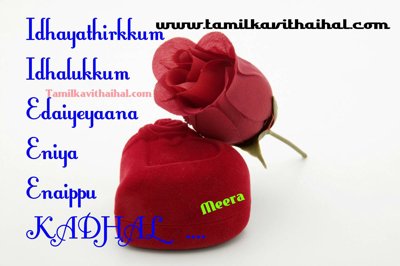 Thanglish kavithai kadhal idhayam idhal love beautiful